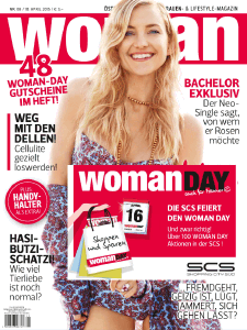 Woman Magazin 08/2015 Cover