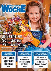 Die ganze Woche 11/2016 Cover
